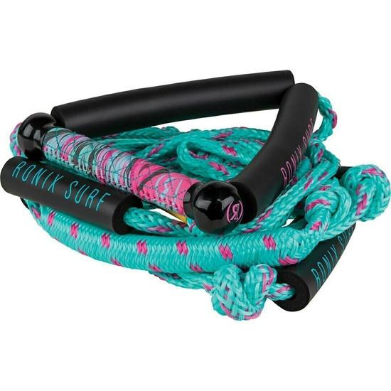 Ronix Bungee Wake Surf Rope -Ladies Pink/Blue
