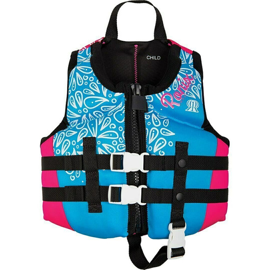 Ronix August Girl's Child Life Jacket -Front