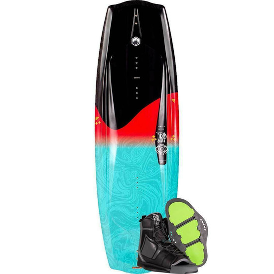 Liquid Force Trip Wakeboard Package W/ Index Boots - 2021