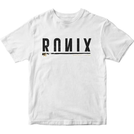Ronix Megacorp T-Shirt - White/Black