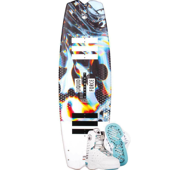 Liquid Force Remedy Wakeboard Package W/ Aero 6X Boots - 2021