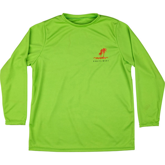 Ronix Boy's Wick Dry Long Sleeve - Lime