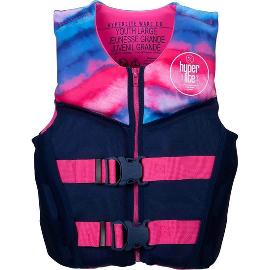 Hyperlite Girl's Youth Indy Life Jacket - 2021 - Large
