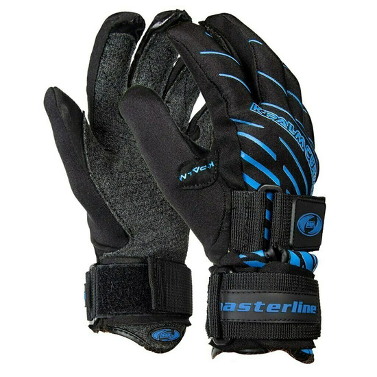 Masterline K-Palm Water Ski Gloves - Blue