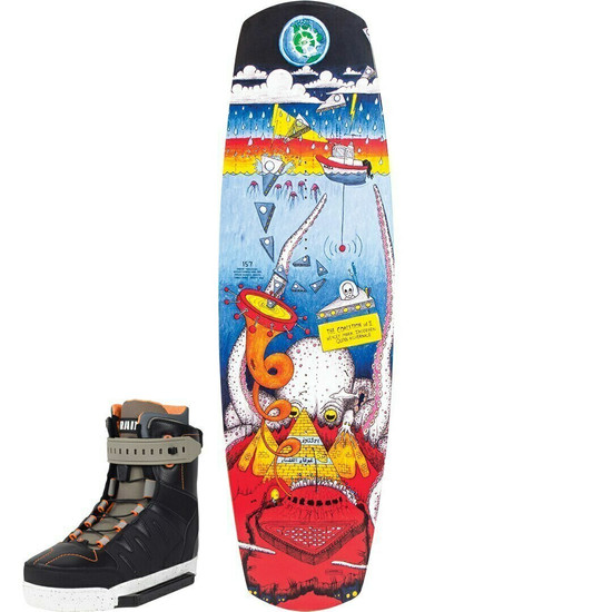 Slingshot Coalition Wakeboard Package W/ RAD Boots - 2020