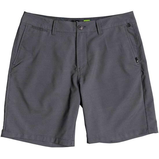 "Quiksilver Union Amphibian 19"" Boardshorts - Grey - Front"