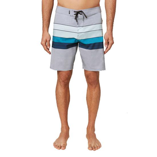 O'neill Hyperfreak Heist Line Boardshorts - Light Grey