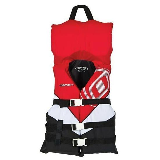 O'brien Youth Nylon Life Jacket  - Red