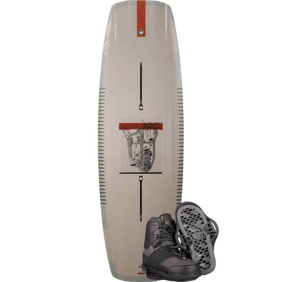 Liquid Force Peak Wakeboard Package W/ Peak 6X Boots - 2021