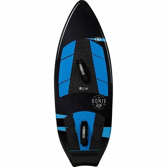 2020 Ronix Modello Fish Skim Wakesurf Board w/ Straps - Top