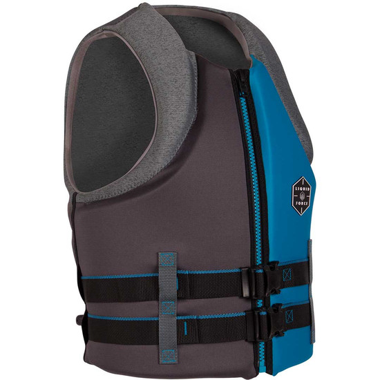Liquid Force Hinge Life Jacket - Blue/Grey