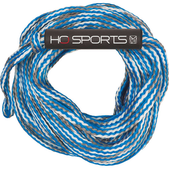 HO 2K Deluxe Tube Rope - Blue