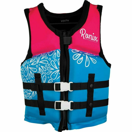 Ronix August Girl's Youth Life Jacket - Front