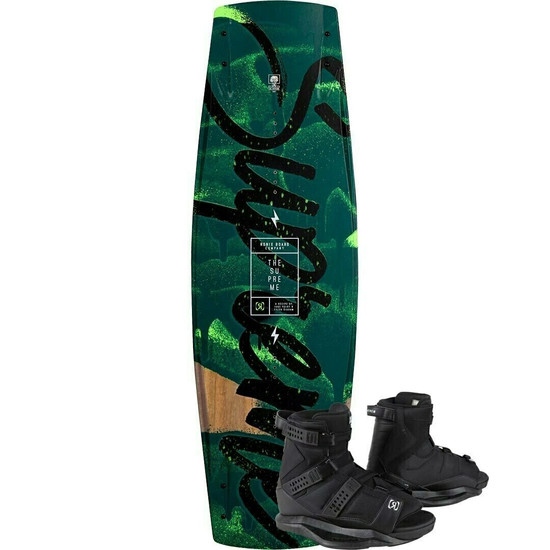 Ronix Supreme ATR Wakeboard Package w/ Anthem Boots - 2021