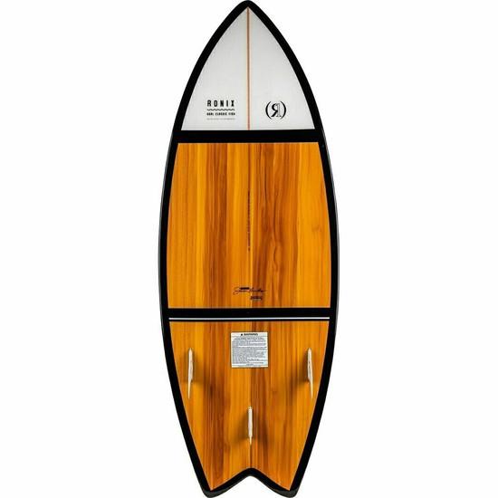 Ronix Koal Fish Classic Wakesurf Board - Bottom View