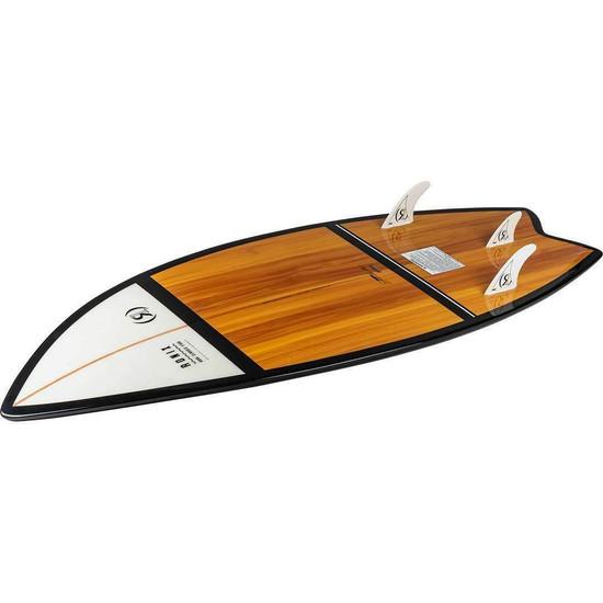 Ronix Koal Fish Classic Wakesurf Board - Alternate Bottom View