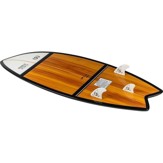 Ronix Koal Fish Classic Wakesurf Board - Alternate Bottom View 2
