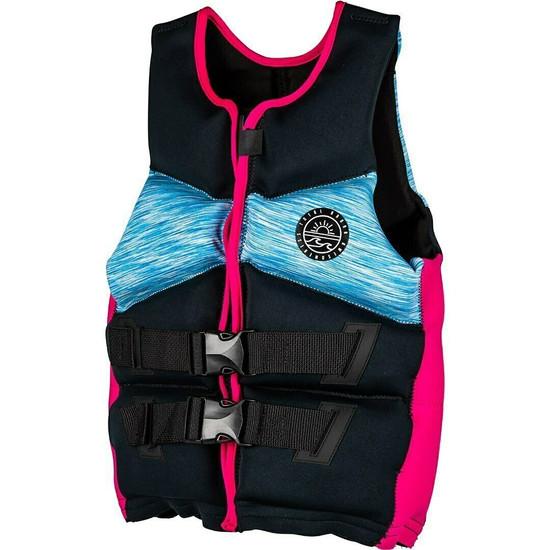 Radar T.R.A. Youth Girl's Life Jacket - Black/Blue