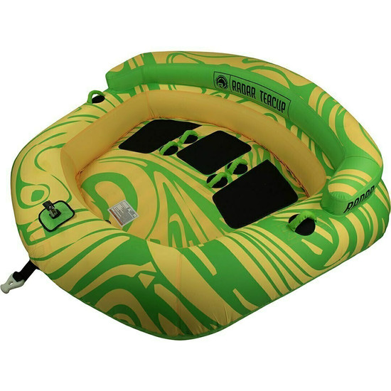 Radar Teacup 3 Person Tube - Yellow / Green