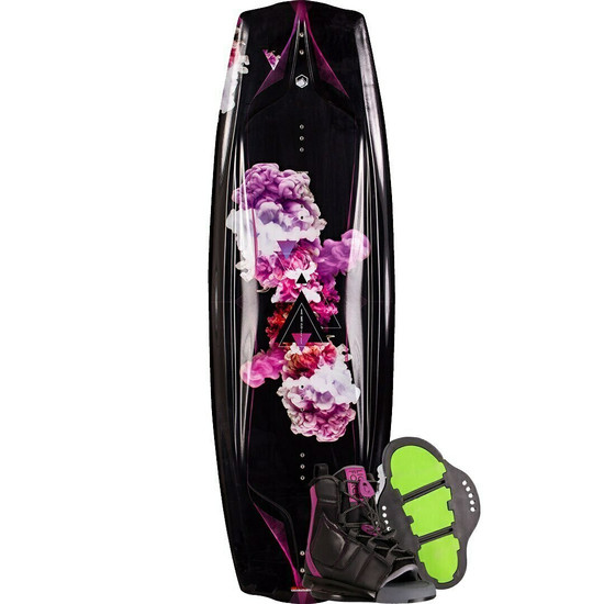 Liquid Force Angel Women's Wakeboard Package W/ Plush Boots - 2021