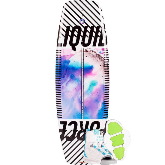 Liquid Force Dream Girl's Wakeboard Package W/ Dream Boots - 2021