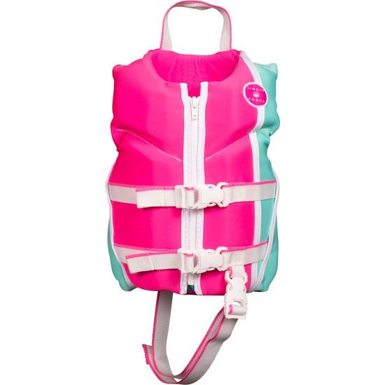 Liquid Force Dream Child Life Jacket - Pink/Mint
