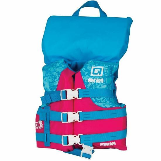 O'brien Child Nylon Life Jacket  - Blue/Pink