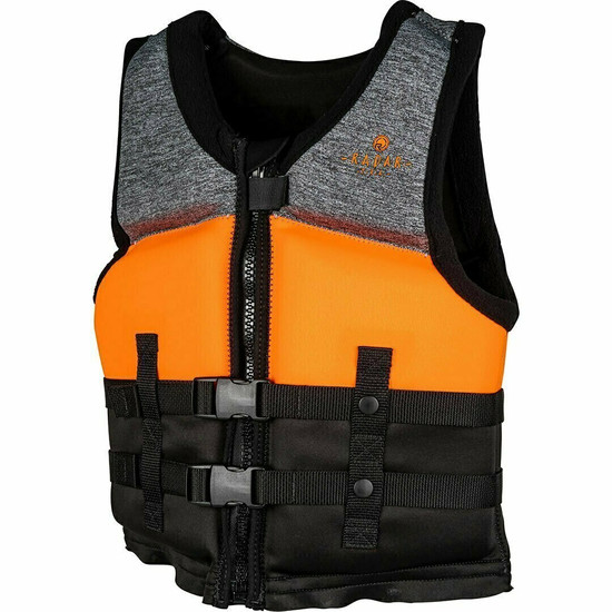 Radar T.R.A. Youth Boy's Life Jacket - Black/Orange