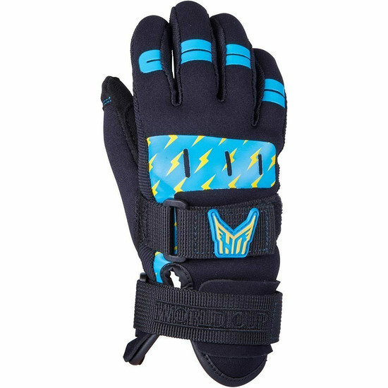 HO World Cup Kid's Water Ski Gloves - Top