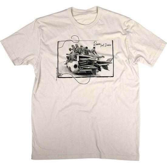 Ronix Surf Babe T-Shirt - Vintage Tan/Black