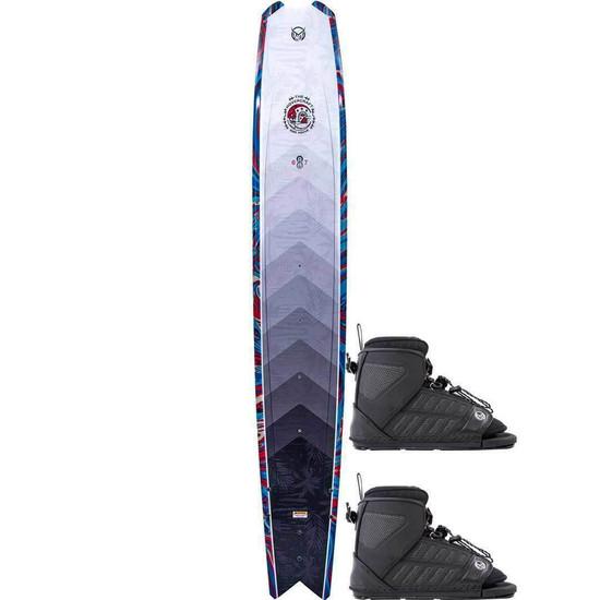 HO Hovercraft Water Ski w/ Double FreeMAX Bindings - 2021