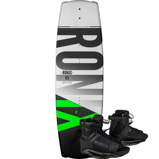 Ronix Vault Wakeboard Package w/ Divide Boots - 2020