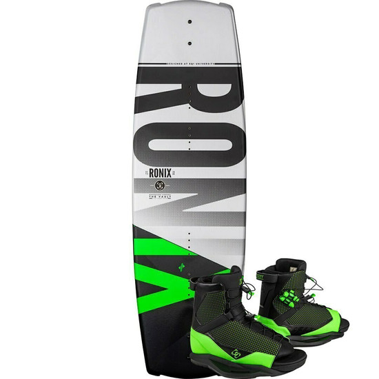 Ronix Vault Wakeboard Package w/ District Boots - 2020