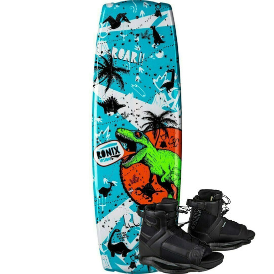 Ronix Vision Boy's Wakeboard Package W/ Boys Divide Boots - 2020