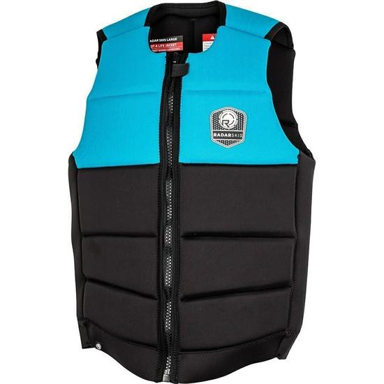 Radar Tidal Comp Vest - Neon Blue