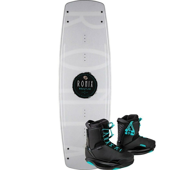 Ronix Signature Women's Wakeboard Package w/ Signature Boots - 2021