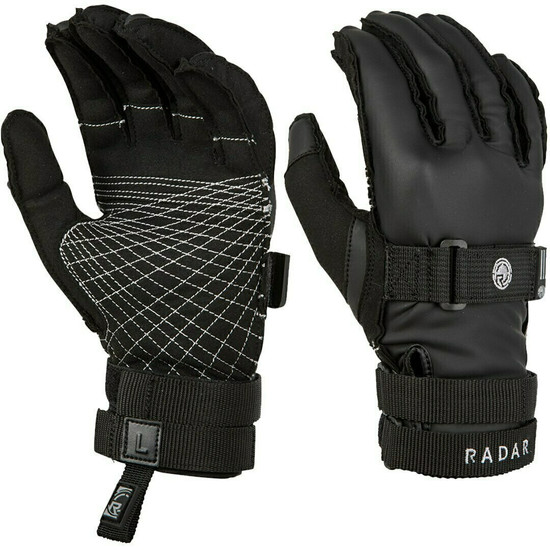 Radar Atlas Inside-Out Water Ski Gloves - Black