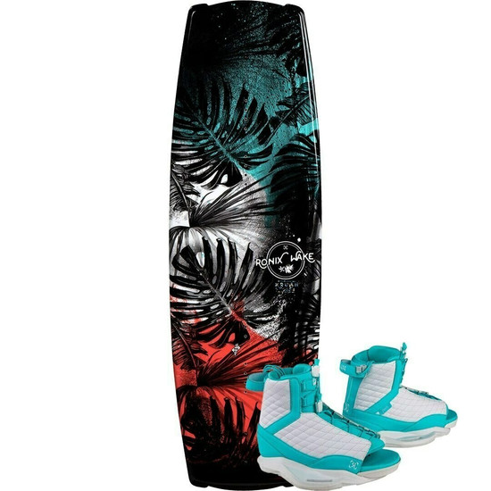 Ronix Krush Wakeboard Package w/ Luxe Boots - 2021