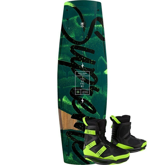 Ronix Supreme ATR Wakeboard Package w/ Supreme Boots - 2021