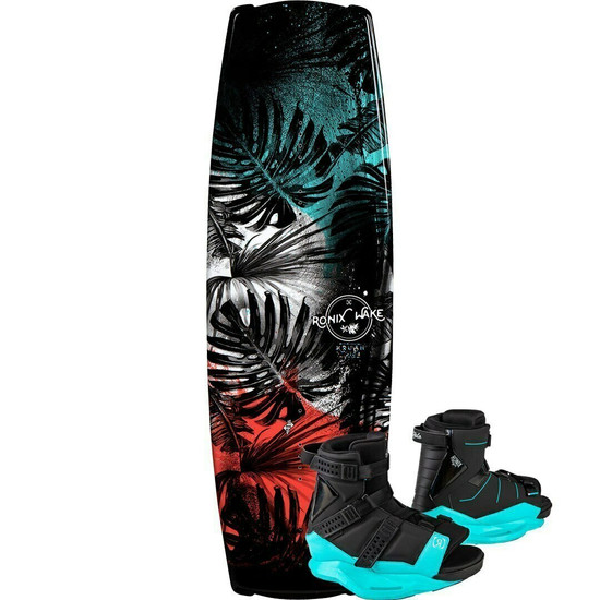 Ronix Krush Wakeboard Package w/ Halo Boots - 2021