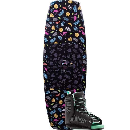 Hyperlite Girl's Murray Jr. Wakeboard Package w/ Jinx - 2021