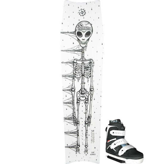Slingshot Space Tomb Wakeboard Package W/ Space Mob Boots - 2021