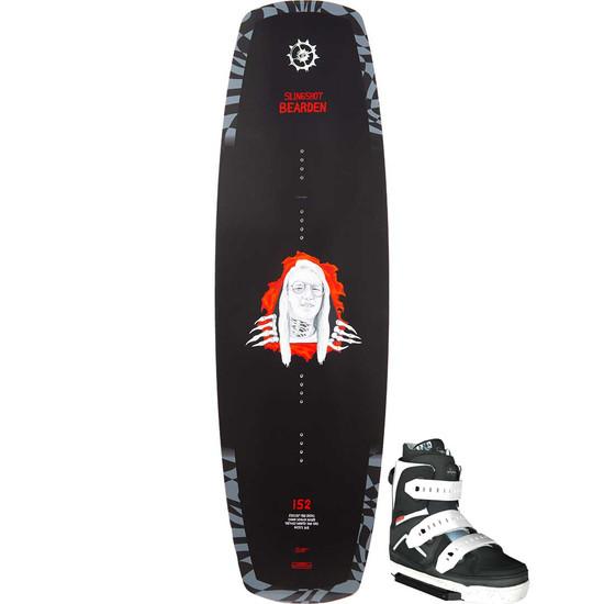 Slingshot Bearden Wakeboard Package W/ Space Mob Boots - 2021