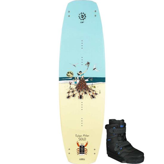 Slingshot Solo Wakeboard Package W/ RAD Boots - 2021