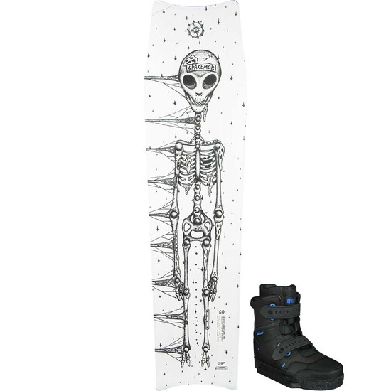 Slingshot Space Tomb Wakeboard Package W/ RAD Boots - 2021