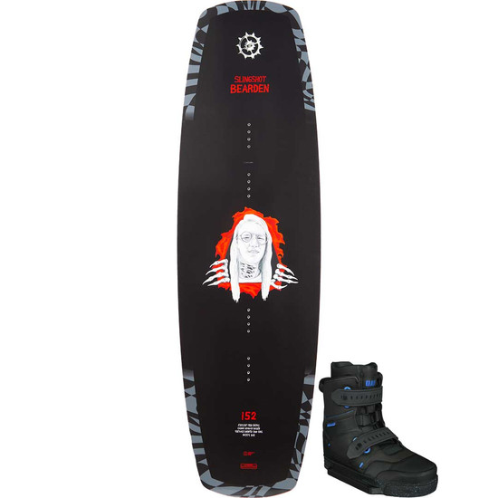 Slingshot Bearden Wakeboard Package W/ RAD Boots - 2021