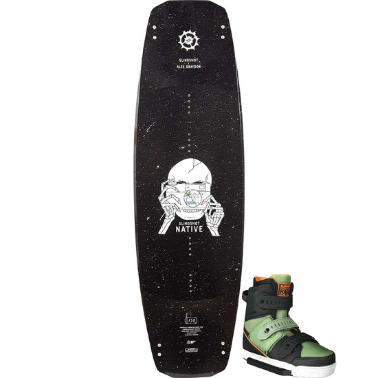 Slingshot Native Wakeboard Package W/ KTV Boots - 2021