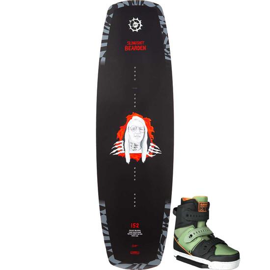 Slingshot Bearden Wakeboard Package W/ KTV Boots - 2021