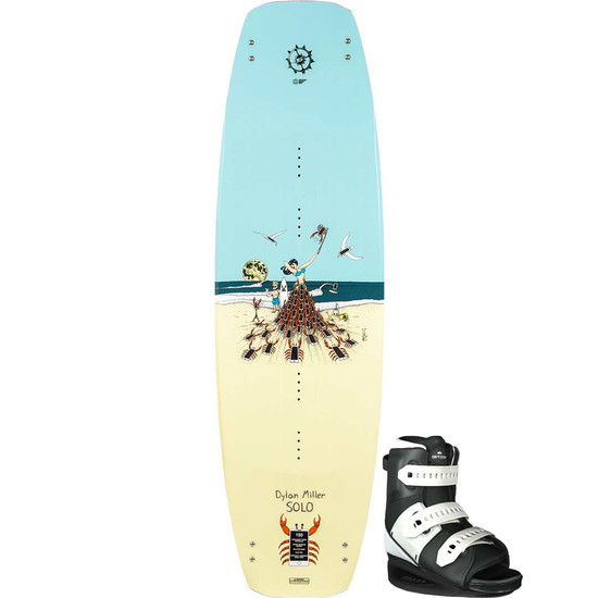 Slingshot Solo Wakeboard Package W/ Option Boots - 2021