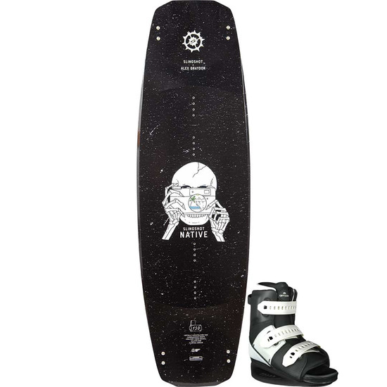 Slingshot Native Wakeboard Package W/ Option Boots - 2021